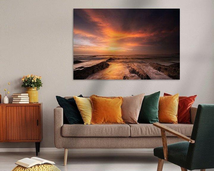 Sfeerimpressie: Burning Sky van Rob Christiaans