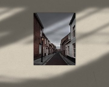 Oude straat in Bergen op Zoom von Kim de Been