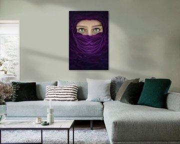 Violet arabe sur Elianne van Turennout