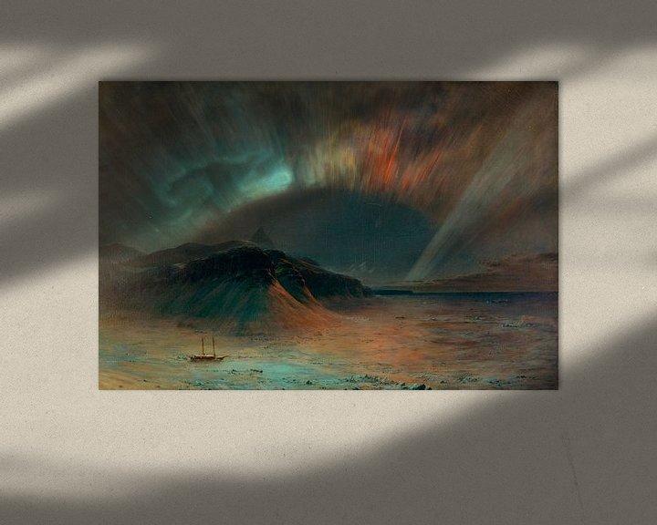 Beispiel: Aurora Borealis, Frederic Edwin Church