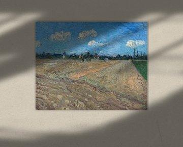 Gepflügte Felder/ Die Furchen, Vincent van Gogh