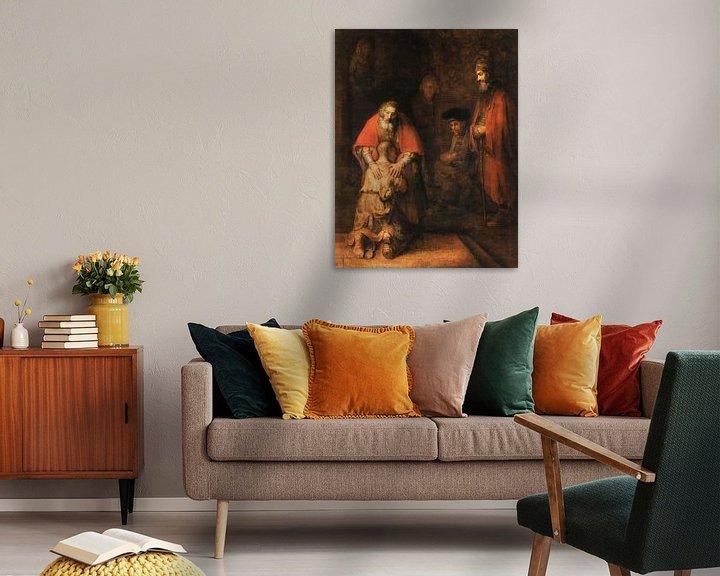 Beispiel: Rückkehr des verlorenen Sohnes, Rembrandt van Rijn