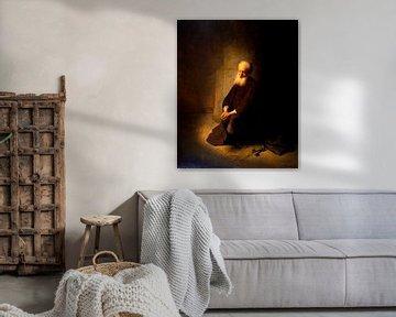 Petrus im Gefängnis, Rembrandt van Rijn