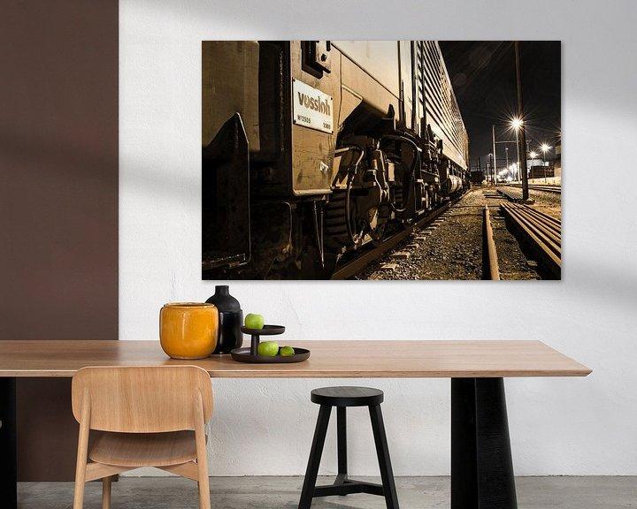 Sfeerimpressie: Urbex trein Antwerpen van Lars Mol