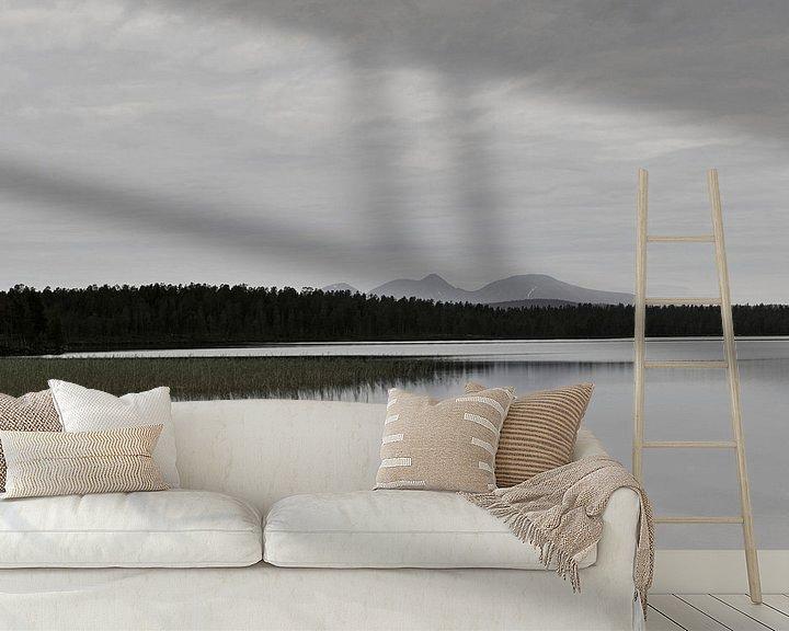 Impression: Schwedischer See, norwegische Berge sur Mirjam van Vooren