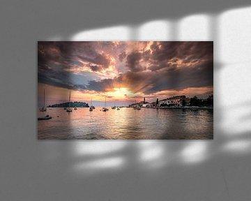 Zonsondergang Rovinj (Kroatië)
