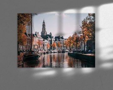 Hoge der Aa | Herfst in Groningen van Daniel Houben