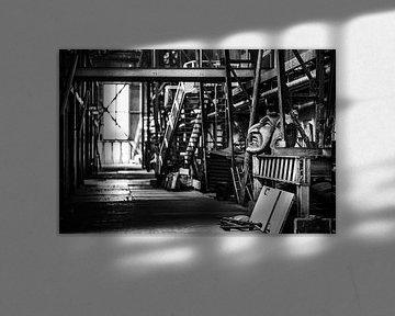 Oude fabriekshal van Bart Rondeel