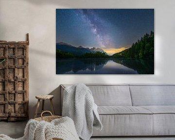 Milchstraße über Krün von Dennis Eckert