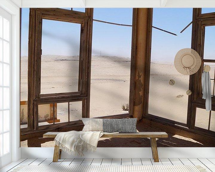 Sfeerimpressie behang: A view more van Erna Haarsma-Hoogterp