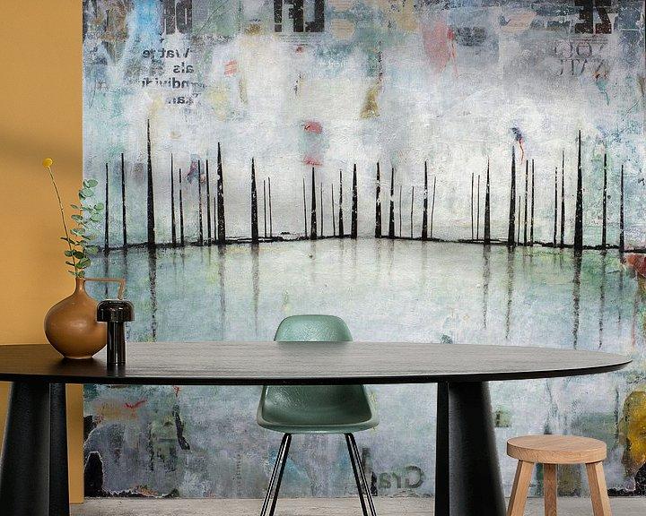 Sfeerimpressie behang: FROZEN SHADOWS van db Waterman