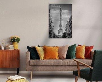 Pariser Flair | Monochrom von Melanie Viola