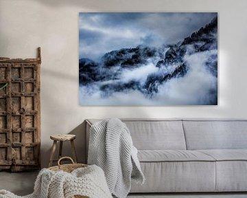 in de wolken sur Berend-Jan Bel