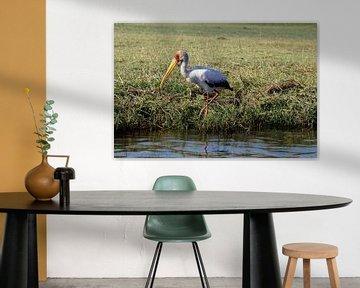 Fishing bird van Erna Haarsma-Hoogterp