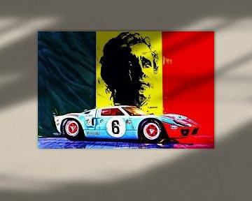 Legends Of Le Mans  -  Jacky Ickx von Jean-Louis Glineur alias DeVerviers
