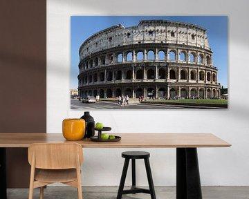 Colosseum in Rome van Marcel van der Voet