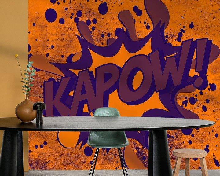 Beispiel fototapete: Kapow! von PictureWork - Digital artist