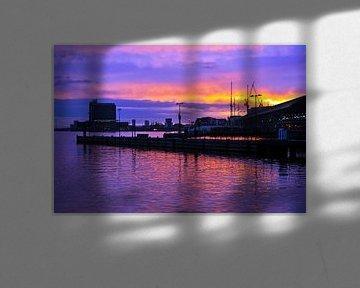 Morning Skyline of Amsterdam