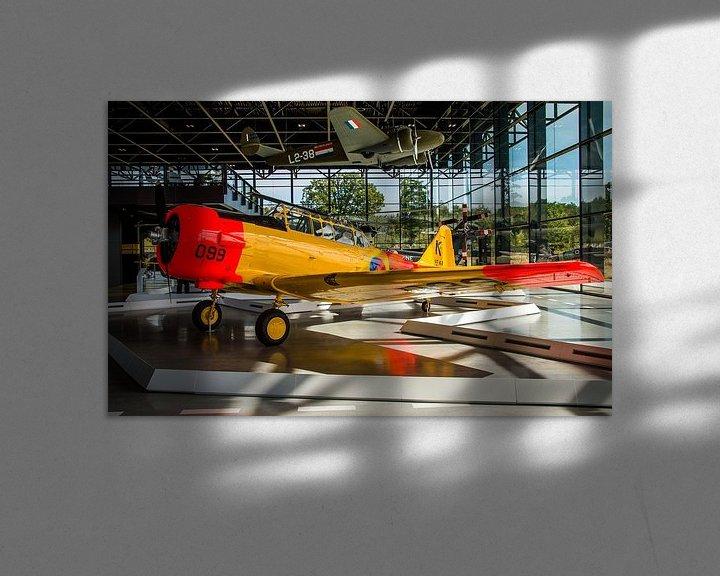 Sfeerimpressie: North American T-6 Texan van Dennis Klaassen