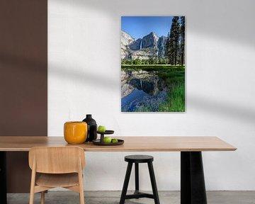 Yosemite Falls Mirror van Thomas Klinder