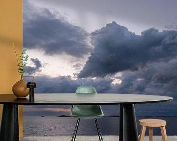 Wolkenlucht boven de Atlantische Route van Barbara Brolsma