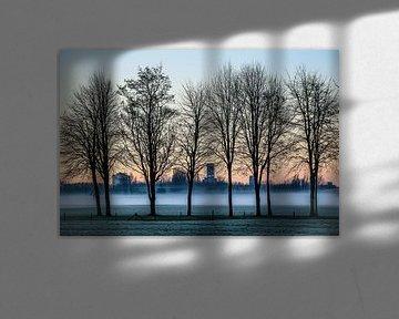 Aan de rand van Leeuwarden von Jo Pixel