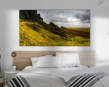 Quiraing, Isle of Skye, Schottland von Paul van Putten