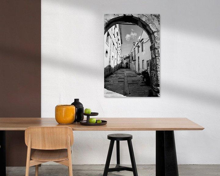 Beispiel: Gasse in Palermo von Sven Zoeteman