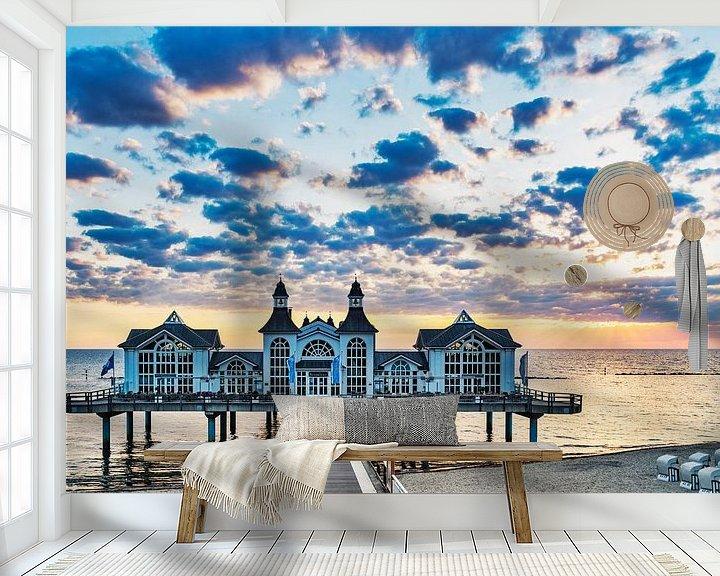 Beispiel fototapete: Sellin Pier, Germany von Gunter Kirsch