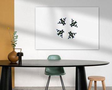 Four Owls (de 4 uiltjes) van Ernst van Voorst