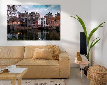 Historisches Delfhaven in Rotterdam von Arisca van 't Hof