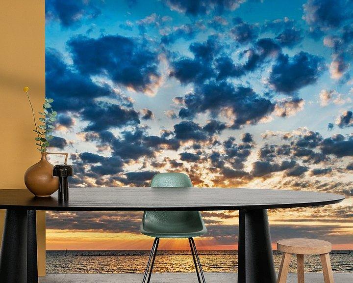 Beispiel fototapete: Sonnenaufgang von Gunter Kirsch