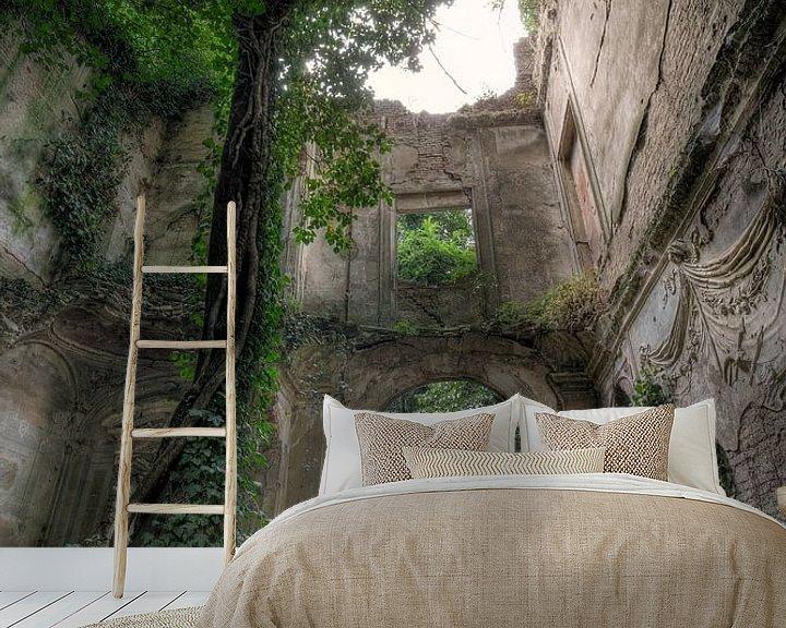 Beispiel fototapete: Ruine Baumhaus von Kristof Ven