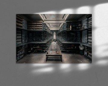 Een verlaten bibliotheek von dafne Op 't Eijnde