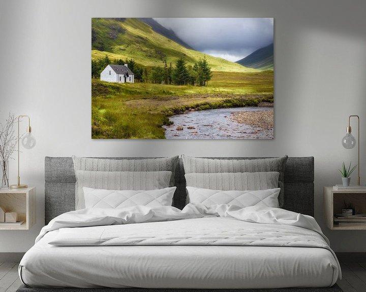 Impression: Lagangarbh cottage sur Pascal Raymond Dorland