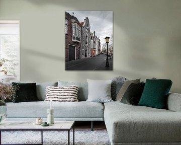 Grachtenpanden in Utrecht von Kim de Been