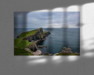 Neist Point Skye Schotland von Lex van Doorn