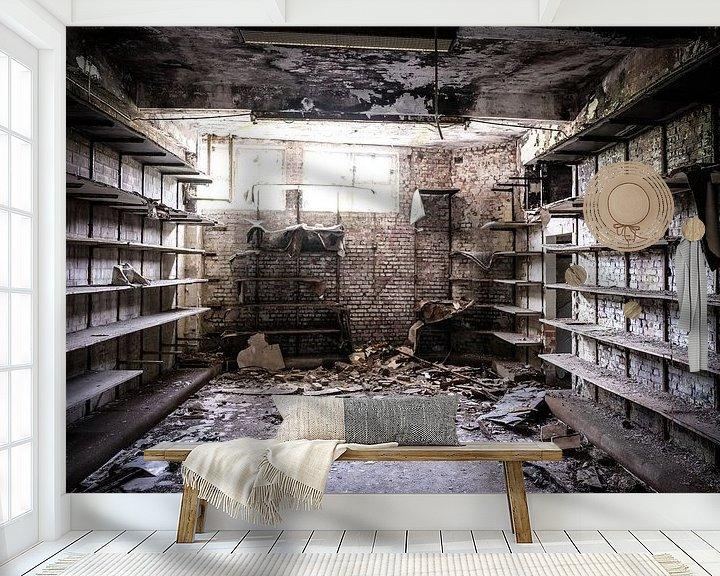 Beispiel fototapete: In een oude sokkenfabriek von Niki Moens