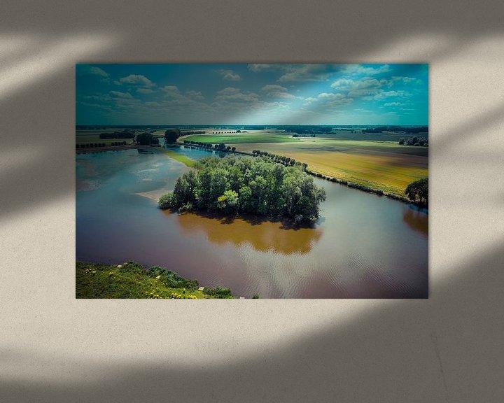 Sfeerimpressie: Eiland in het meer van Bernardine de Laat