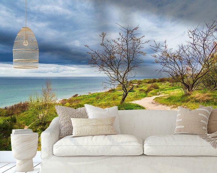 Beispiel fototapete: Landschaft an der Ostseeküste bei Meschendorf von Rico Ködder