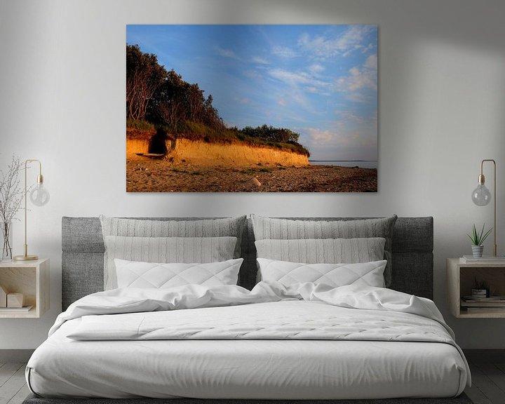 Beispiel: Steilküste im Winter von Ostsee Bilder