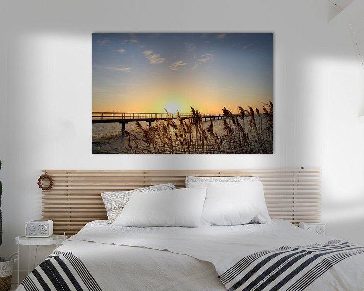 Beispiel: Morgens am Bodden von Ostsee Bilder