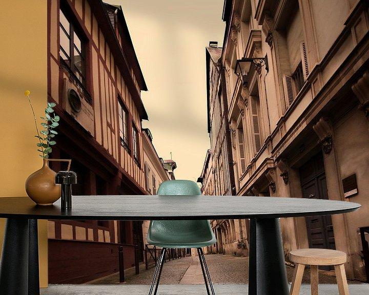 Beispiel fototapete: Oude straatjes von Erik Reijnders