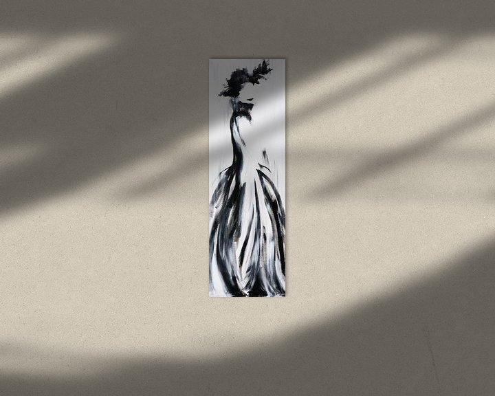 Sfeerimpressie: Vrouw in historische kleding van Henriëtte Mosselman