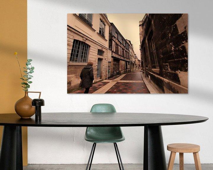 Beispiel: Oude stad Rouen von Erik Reijnders