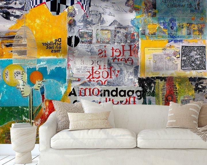 Sfeerimpressie behang: ALL OVER van db Waterman