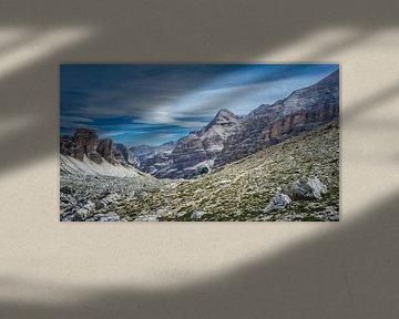 Bergpanorama van Hanneke Bantje