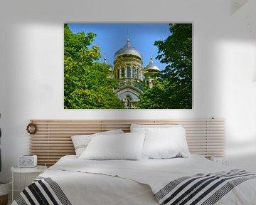 Nikolaus-Kathedrale in Liepaja von Gisela Scheffbuch