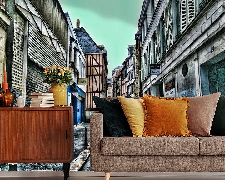 Sfeerimpressie behang: de oude stad van Erik Reijnders