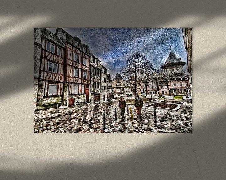 Beispiel: Vakwerk pleintje von Erik Reijnders